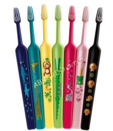 TePe Select Compact  Kids (ZOO) extrasoft zubní kartáček - zvětšit obrázek