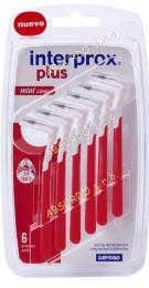 INTERPROX PLUS MINICONICAL mezizubní kartáček 0,60 mm červený kónický - zvětšit obrázek