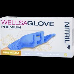 WELLSAGLOVE rukavice nitrilové, nepudrované - zvětšit obrázek
