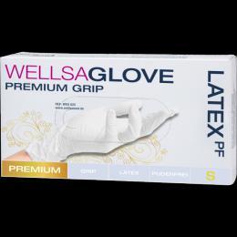WELLSAGLOVE rukavice latexové, nepudrované - zvětšit obrázek