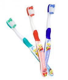 WELLSABRUSH dětský zubní kartáček 3 - 7 let - zvětšit obrázek