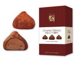 Emoti CHARME DELICES cocoa dusted truffles 200g - zvětšit obrázek