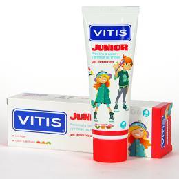 VITIS JUNIOR tutti frutti zubní gel 75 ml                              - zvětšit obrázek