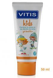 VITIS KIDS cherry zubní gel 50 ml         - zvětšit obrázek
