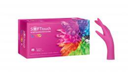 VIVID SOFT rukavice nitril, BOURNAS MEDICALS - růžové - zvětšit obrázek