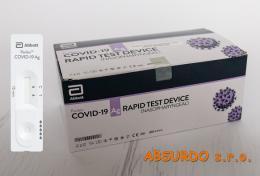 PANBIO™ COVID-19 Ag Rapid Test při probíhající infekci, 25 ks  - zvětšit obrázek