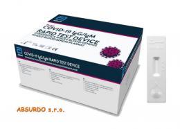 PANBIO™ COVID-19 IgG/IgM RAPID TESTna protilátky - zvětšit obrázek